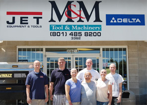 M&M Tool and Machinery staff